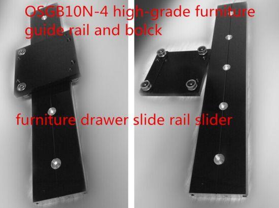 Osgb10-4 High-Grade Furniture Guide Rail and Block, Furniture Tracks