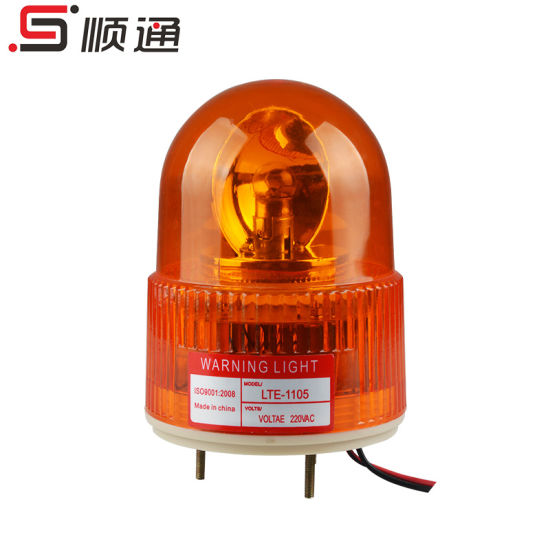 Lte-1105 Rotary Beacon Warning Alarm Light