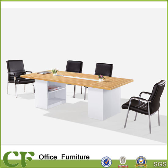 China Melamine Wood Office Large Modern Conference Table For - 10 seater conference table