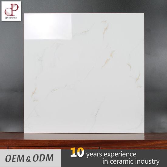 Floor Tiles Rates In Kerala School Villa Walkway Glazed Gloss White Ceramic Tile 60X60cm