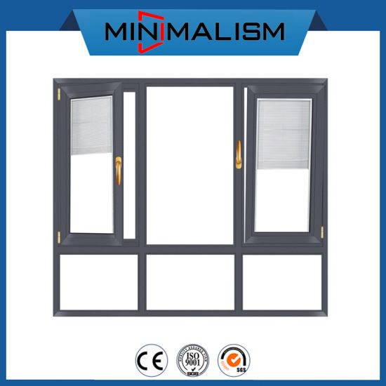 Waterproof/ Soundproof / Rust-Proof Aluminum Awning Window with Tempered Glazed