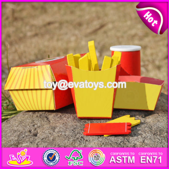 New Design Toddlers Pretend Toys Wooden Play Food W10b186