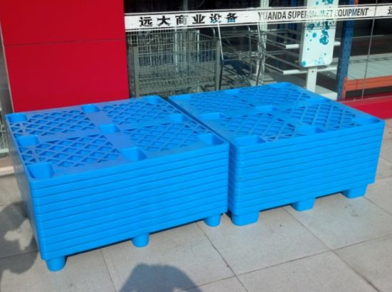 Heavy Duty Single Side Warehouse Plastic Pallet pictures & photos