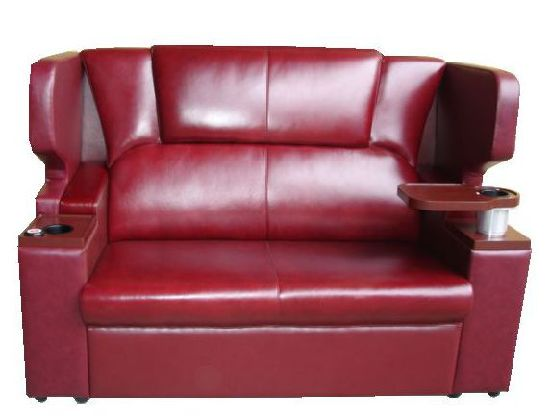 Cinema Couple Seating Theater Lover Seat VIP Sofa Chair (SC) pictures & photos