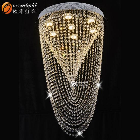 China gu10led chips string hanging crystal chandelier warm pendant gu10led chips string hanging crystal chandelier warm pendant light om4200 aloadofball Choice Image
