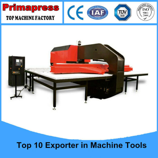 CNC Turret Punch Machine with Multi Stations pictures & photos