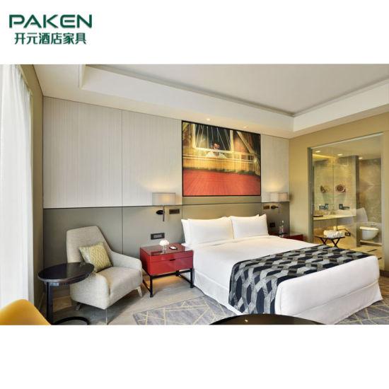 Modern Hotel FF&E Bedroom Furniture for Wooden Room Set