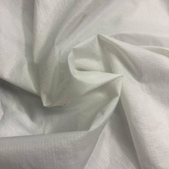 Wholesale China Supply Iron Bull Printing Plain Dyeing 100% Polyester Pongee Lining Fabric with Semi Dull pictures & photos
