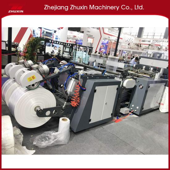 Automatic High Speed T-Shirt Bag Making Machine (2 Line)