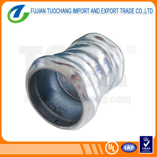 Gi Pipe Fitting Compression Type EMT Coupling