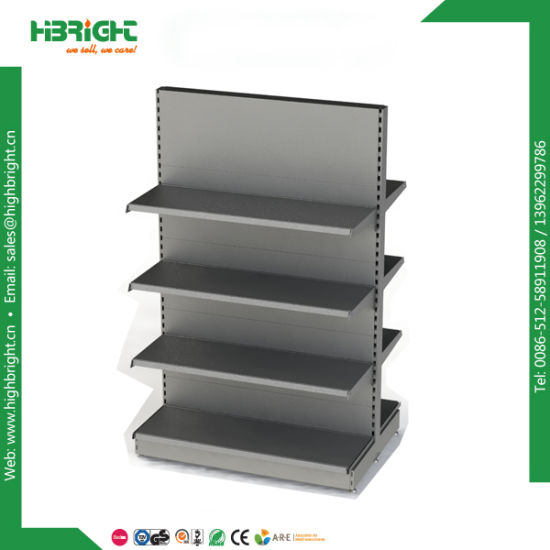Supermarket Grocery Metal Gondola Shelving Shelf pictures & photos