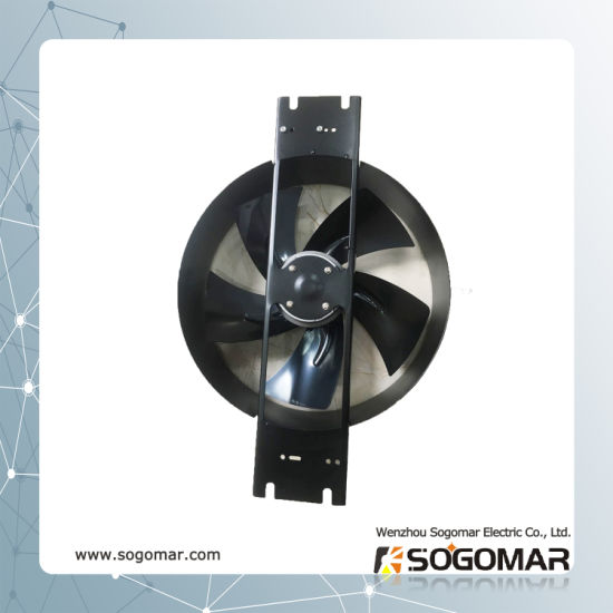 (300FZY8-D) 380VAC 2400rpm Metal Axial Fan Dia 300mm with Capacitor pictures & photos