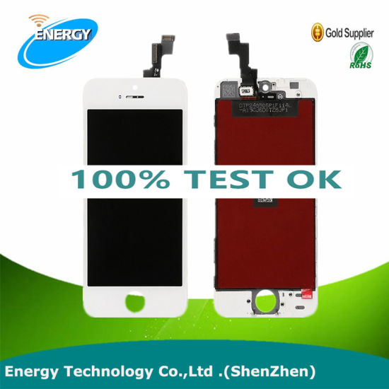 AAA Quality Mobile Phone LCD for Apple iPhone 5s, LCD Digitizer Touch Screen Assembly