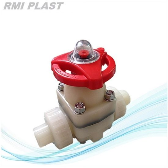 PVDF Diaphragm Valve by ANSI Cl150 pictures & photos