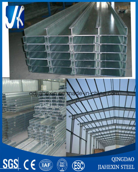 Steel Structure Roof Purlins C Shape Purlins (JHX-005) pictures & photos