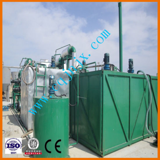 Black Oil Color Removing Waste Motor Engine Oil Distillation Recycling Machine pictures & photos