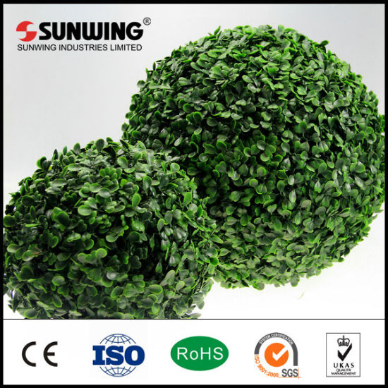 Decorative Nature Outdoor Artificial Topiary Boxwood Balls For Garden
