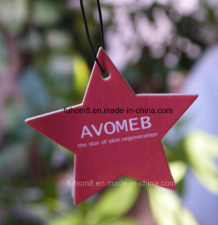Five-Pointed Star Car Perfume / Paper Car Air Freshener