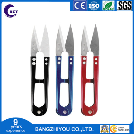 High Quality and Low Price Hot Selling Color Handle Yarn Cutting Scissors