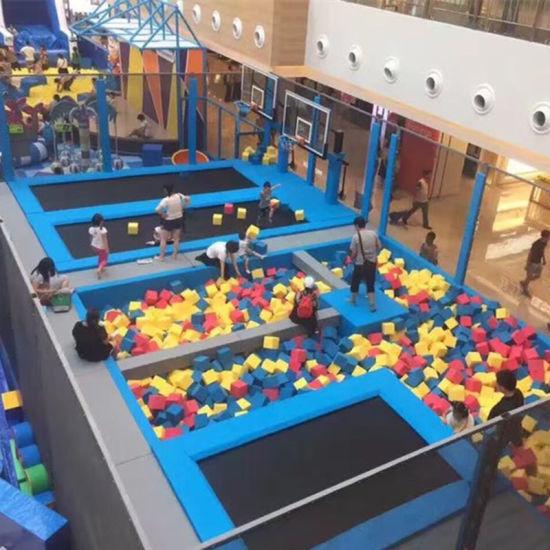 Professional Multifunctional Giant Indoor Trampoline Park for Sale