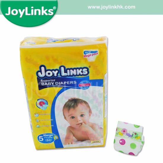 Disposable Baby Diapers With Embossed PE Film