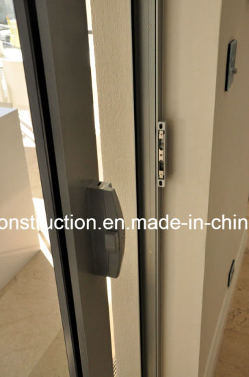 Customized High Quality Aluminum Cavity Door with Double Glazing pictures & photos
