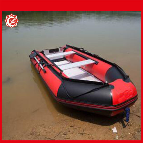 2.7m Aluminum Inflatable Assault Boat 3 Person Inflatable Speed Boat pictures & photos