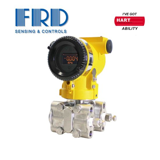 Frd High Accuracy Hart Protocol Monocrystalline Silicon Differential Pressure Transmitter