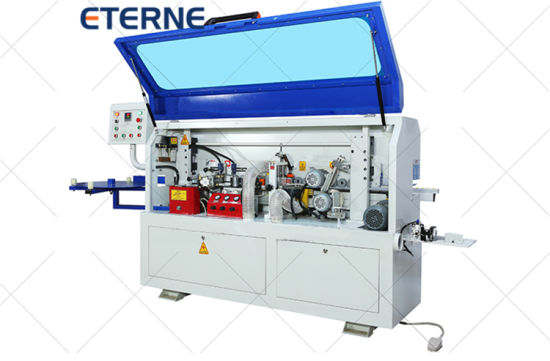 China Semi Auto Woodworking Pvc Edge Banding Equipment For