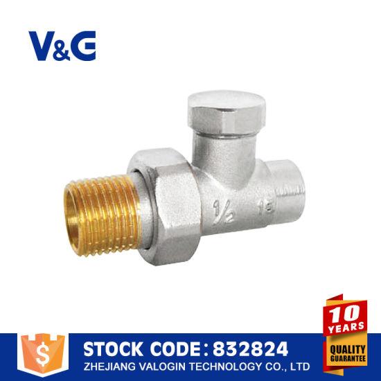 Solar Water Heater Brass Radiator Valve (VG-K16041)
