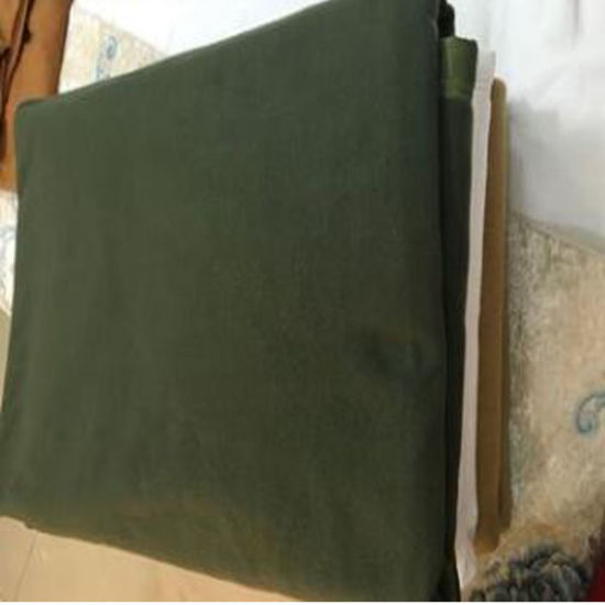 Cheapest Polyester Army Blanket Green Color (DPF10360)
