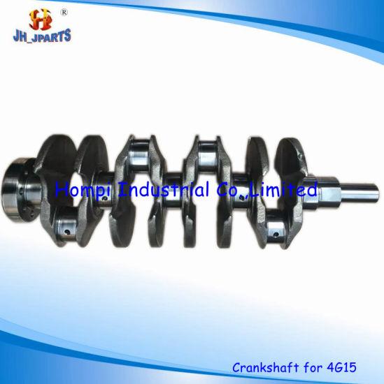 Auto Parts Crankshaft for Mitsubishi 4G15 23111-21050  4G13/4G14/4G63/4G64/6g74/4G92/4G94