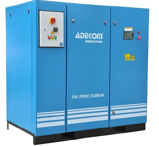 Water Injection Roctary Screw Air Oil Free Screw Compressor (KB22-08ET) pictures & photos