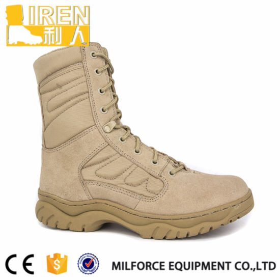 Top Quality Military New Style Army Desert Boots pictures & photos