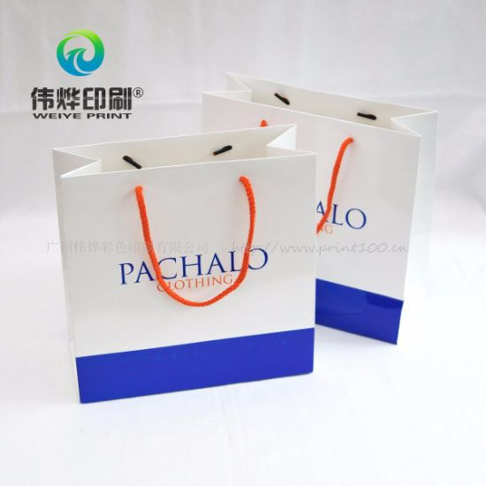 Customized Paper Printing Gift Bag for Grament Packing pictures & photos