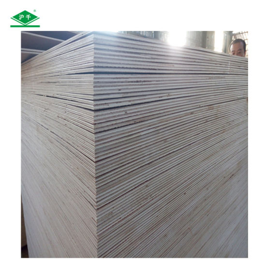 Cheap Laminated White Birch Plywood of Birch Venner Plywood pictures & photos