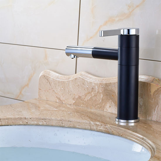 Brass Chrome Bathroom Basin Taps with Single Hole pictures & photos