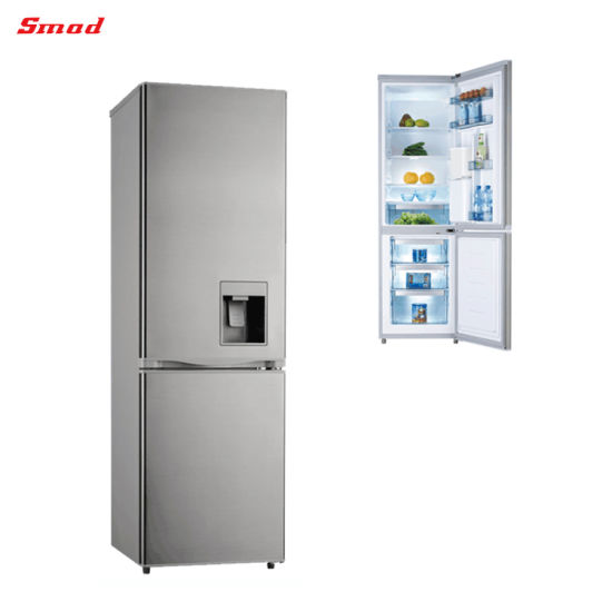 Combi Freezer Double Door Refrigerator with Water Dispenser