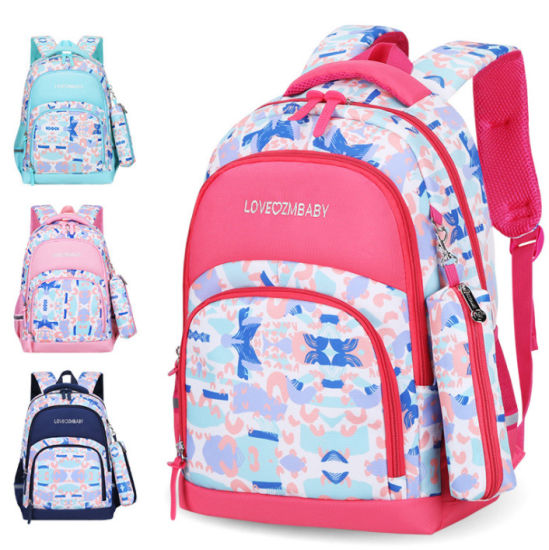 Fashion School Bag Girls Lovely Waterproof Shoulder Backpack Bag