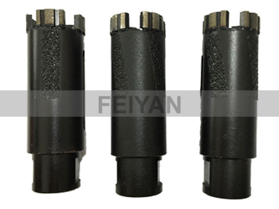 Laser Brazed Turbo Dry Core Bit for Granite pictures & photos