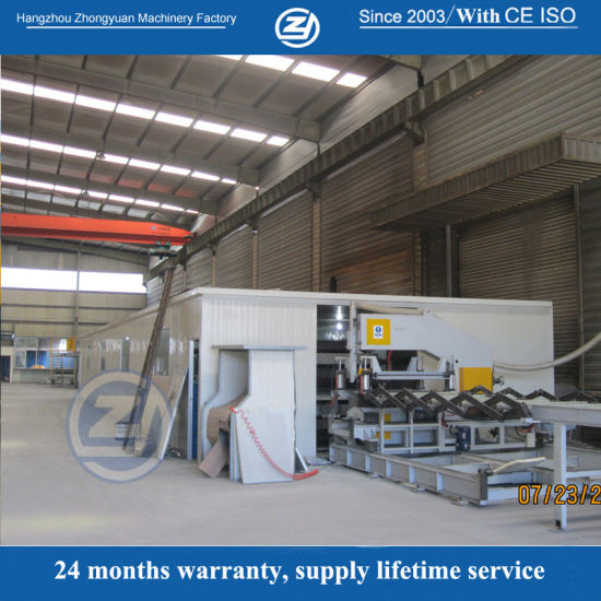 Factory Customized Continuous PU Polyurethane Sandwich Panel Production Line Roll Forming Machine Price with ISO9001/Ce/SGS/Soncap pictures & photos