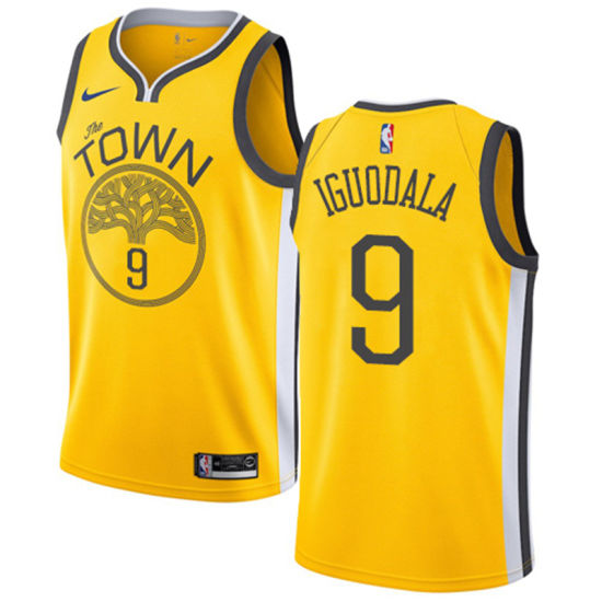 size 40 9225e fff2c Wholesale 2019 Golden State Warriors 9 Andre Iguodala Basketball Jerseys