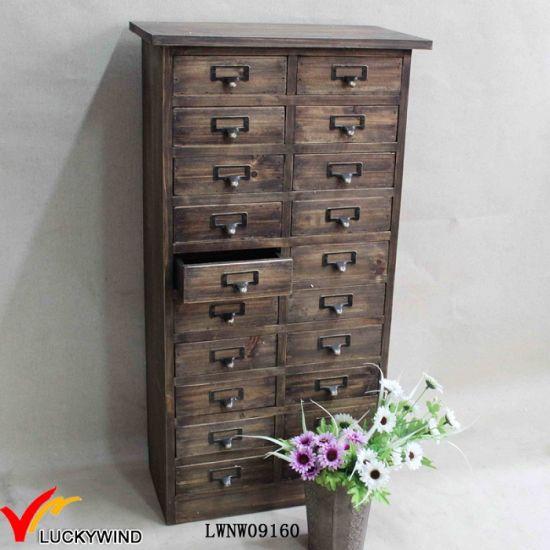Multi Drawer Wooden Cabinet, Wooden Multi Drawer Cabinet