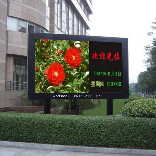 P10 Die-Casting Cabient Outdoor Full Color LED Display Signs