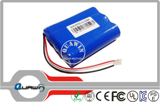 3s1p 11.1V 2600mAh 18650 Lithium-Ion Battery Pack pictures & photos