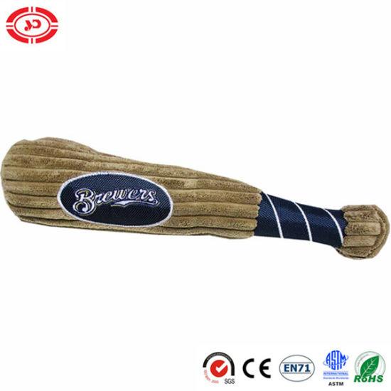 Base Ball Bat Stuffed Shape Plush Cotton Soft Funny Toy