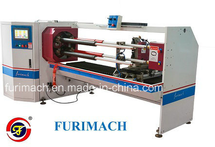 Automatic Four-Shaft Motor Tape Cutting Machine/ Tape Cutting Machine for Sale pictures & photos