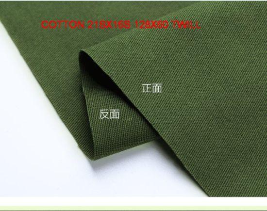 10 Metres Green Polyester  Canvas Twill Dressmaking  Suit Dress Uniform Fabric