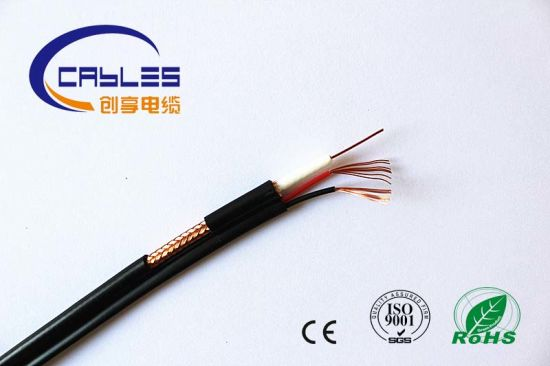 china hot sale coaxial cable rg6 2c with connector china coaxial rh chuangxiang lancable en made in china com