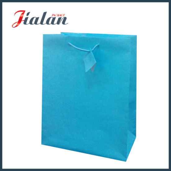 Solid Pantone Color Logo Printed Custom Cheap Wholesales Paper Bag pictures & photos